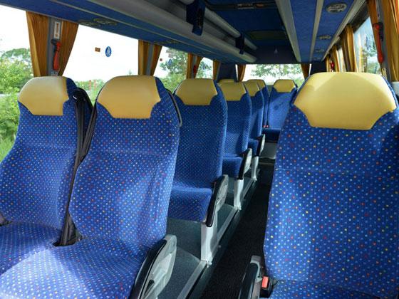 Luxury Coach hire India, Coach rental bookings, book Tempo Traveler ...